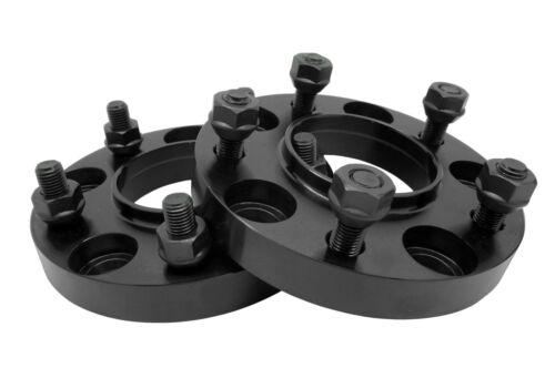 "2 Pc 5x4.5/"" 5x114.3 MM 20MM Thick Black Hubcentric Wheel Spacers 66.1 Hub"
