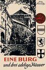 Eine Burg und drei adelige Häuser von Fritz Hinrichs (1965, Taschenbuch)