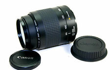 CANON EF 1:4.5-5.6 F=80-200MM II ZOOM LENS EOS/DIGI (caps and filter included)