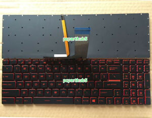 NEW For MSI GL63 8RC GL63 8RD GL73 8RC GL73 8RD keyboard US Red Backlit