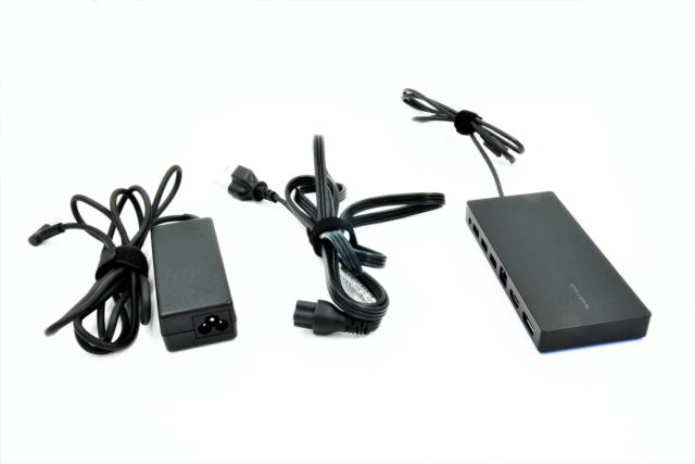 HP 2013 D9Y32AA UltraSlim Docking Station with 65W Adapter D9Y32AA#ABA Renewed