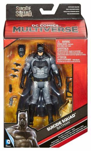 """DC Multiverse ~ 6/"""" BATMAN ACTION FIGURE ~ SUICIDE SQUAD  NEW"""