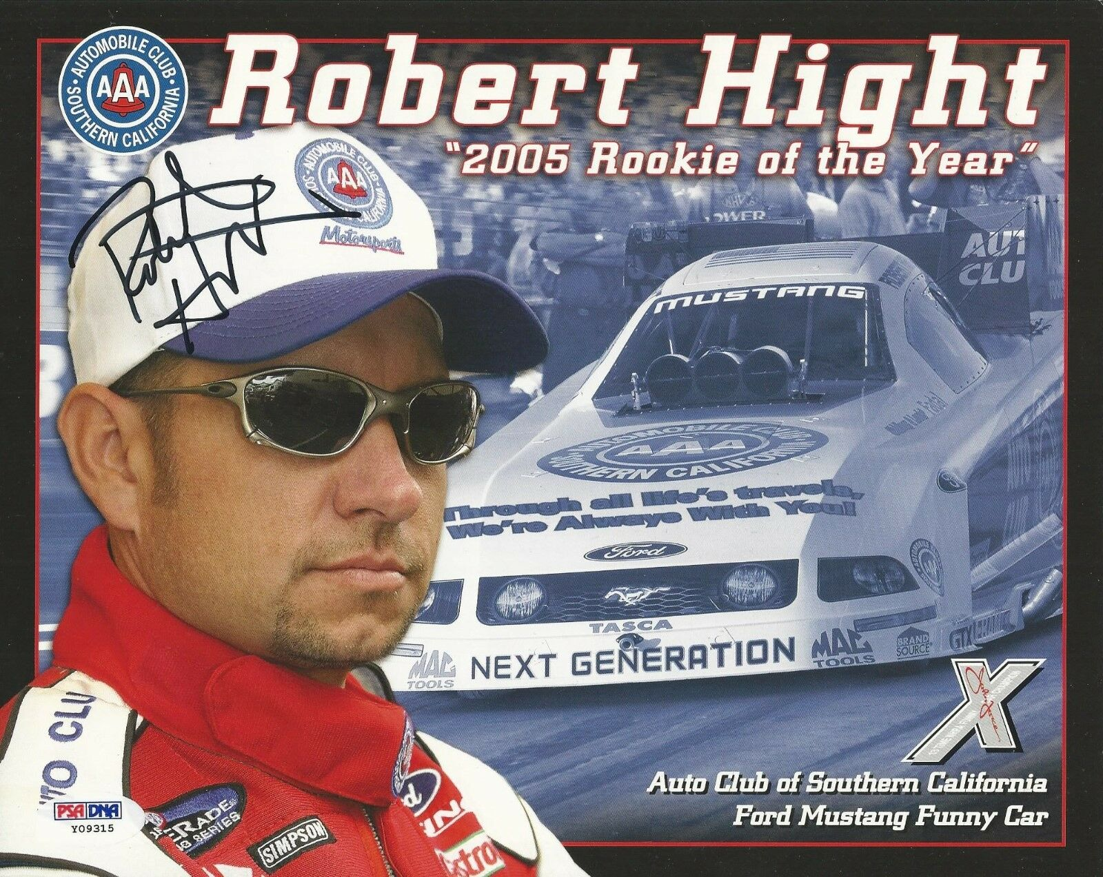 Robert Hight Signed 2006 AAA