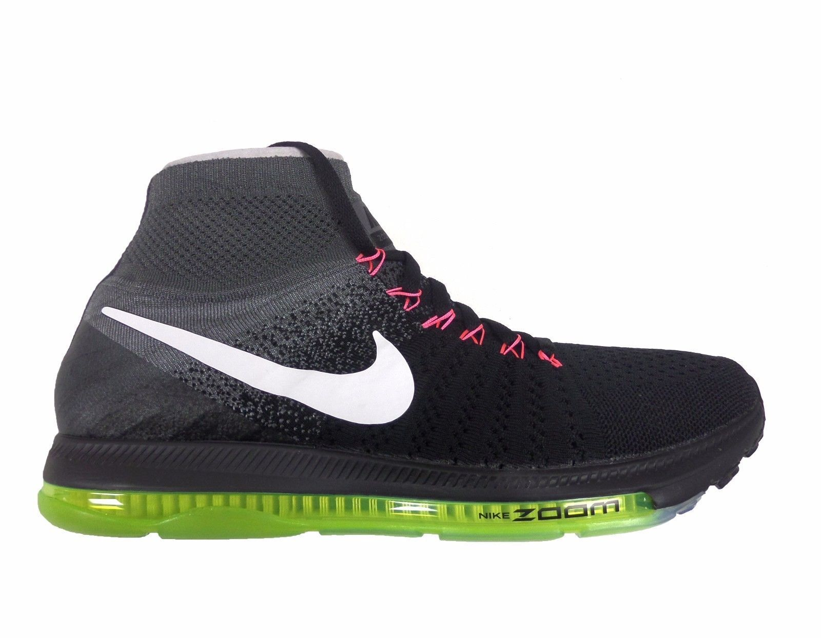 MSRP  200.00 Mens Nike Zoom All Out Flyknit Running shoes Sz 10 844134 002
