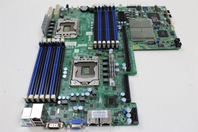 Supermicro X8DTU-F Sever Board Dual Intel CPU LGA 1366 DDR3 Sockets