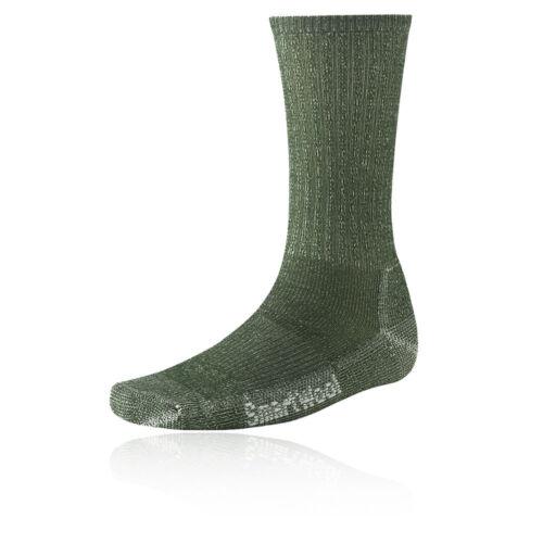 Smartwool Hike Light Crew Mens Green Running Sports Long Athletic Socks