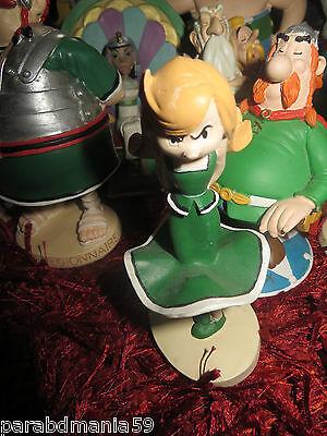 Franco Asterix-vente Goscinny-uderzo-ancienne Statuette-zaza-résine
