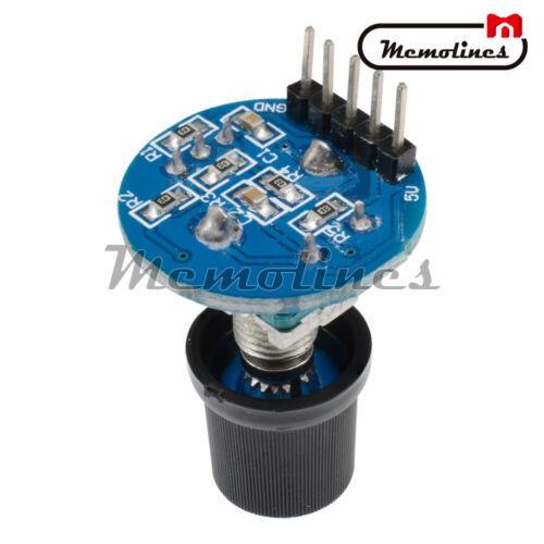 1//2//3//5PCS 5 V Rotary Potentiomètre Encoder Module Brick Sensor Development Board