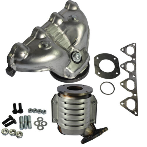 with Integrated Converter Exhaust Manifold For  Honda Civic 1996-2000