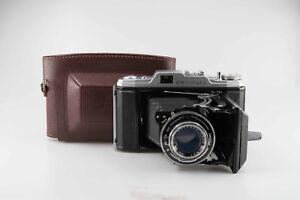 Carl-Zeiss-Jena-Ercona-II-Novonar-Anastigmat-4-5-110-110mm-Red-V-82604