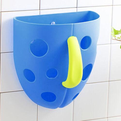 Plastikbaby Badezimmer Bad spielt Saugnapf Speicher Korb Organisator Baden