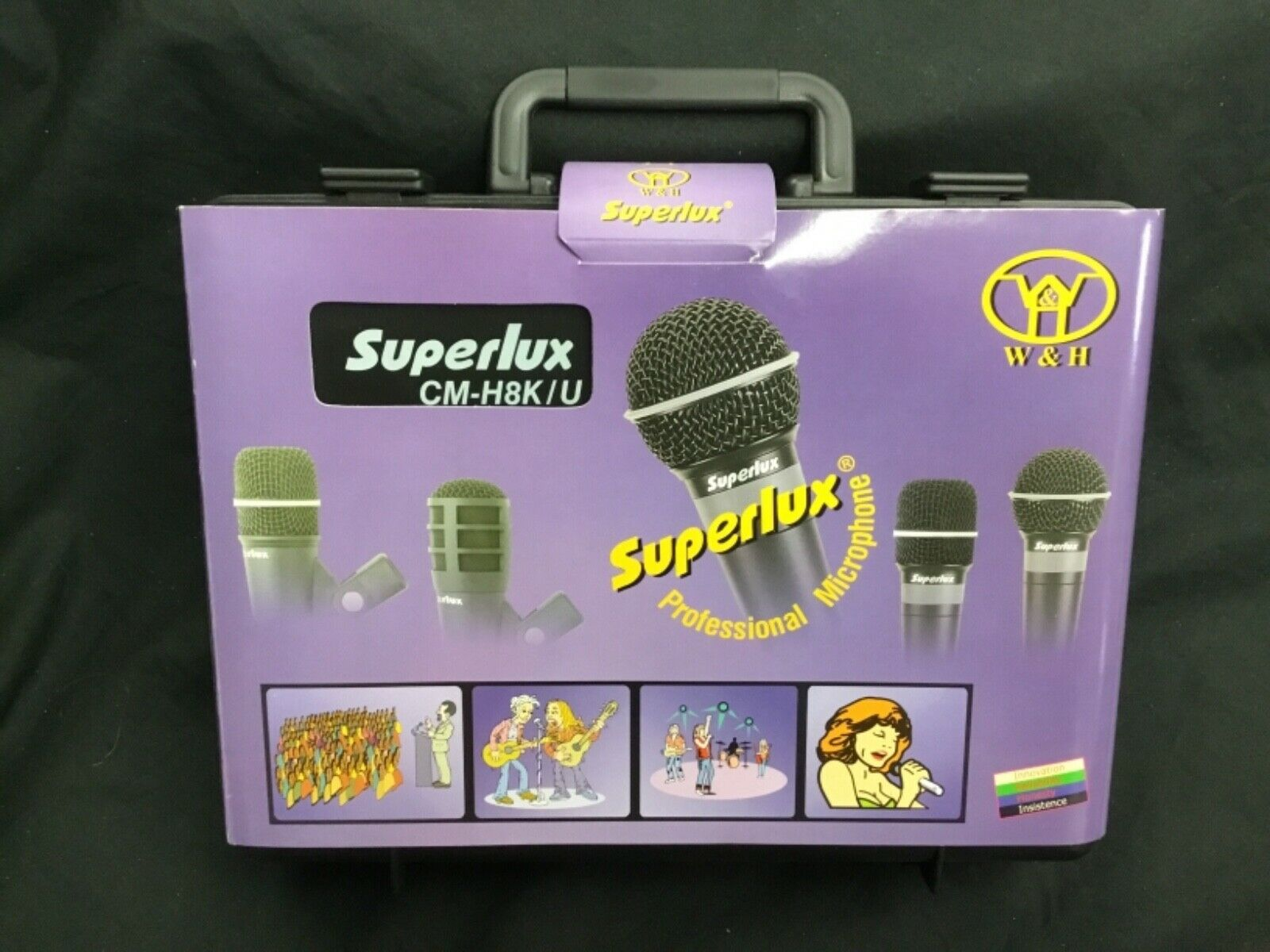 BRAND NEU Superlux CM-H8K U Professionelles Mikrofon