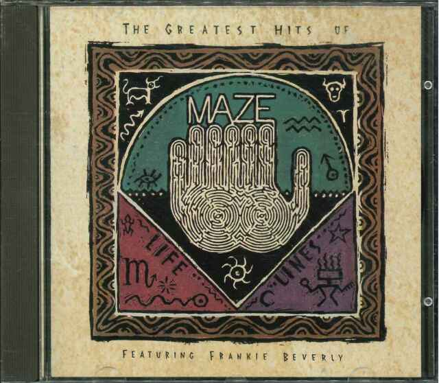 "MAZE FEATURING FRANK BEVERLY ""Lifelines Vol. 1 - The Greatest Hits Of"" CD"