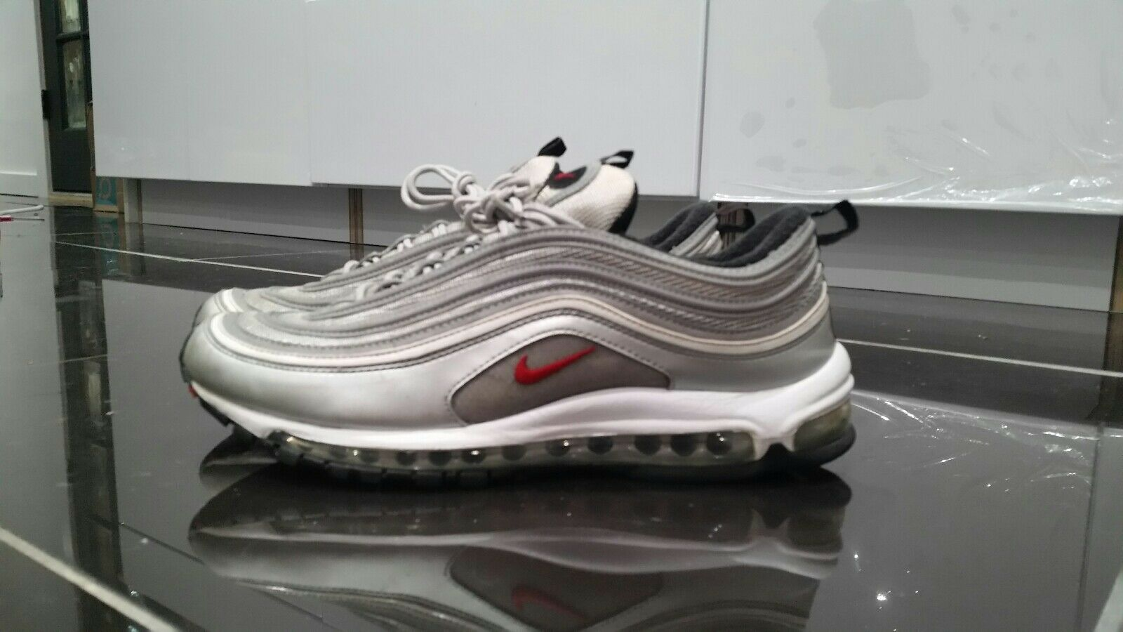 Nike Air Max 97 Silver 11 Bullet Size 11 Silver 35f741