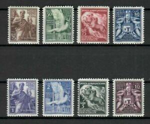 s32963 VATICANO 1938 MNH Posta Aerea 8v