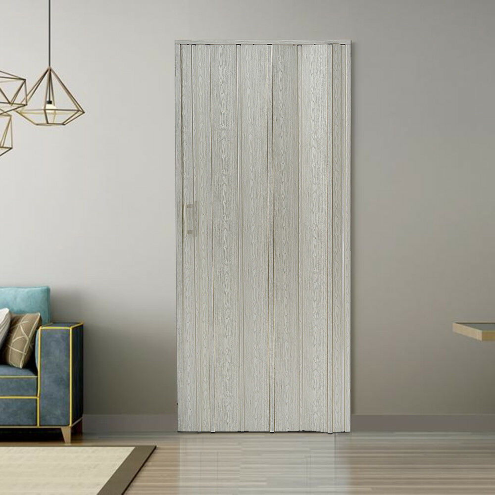 Folding Plastic Sliding Door Dubai: NEW Plastic Folding Door PVC Gloss Washable Doors Sliding