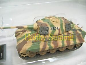 1-72-German-WWII-KING-TIGER-Production-Turret-Schwere-Pz-Abt-505-Finished-Tank