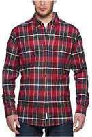 Weatherproof Vintage Men's Plaid Flannel Red