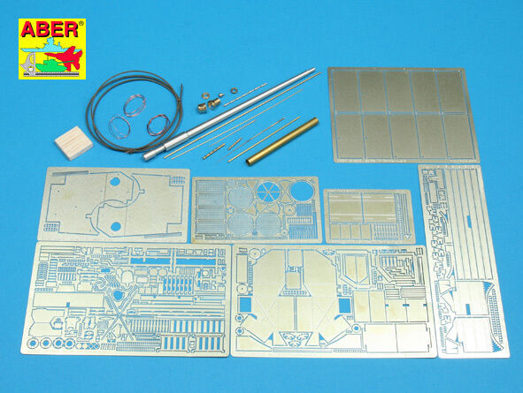 1 35 K  04 ABER  UPGRATE SET for GERMAN PANTHER Ausf G  for DRAGON Kits PROMOTE