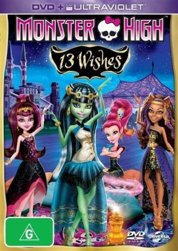 1 of 1 - Monster High - 13 Wishes (DVD, 2013)