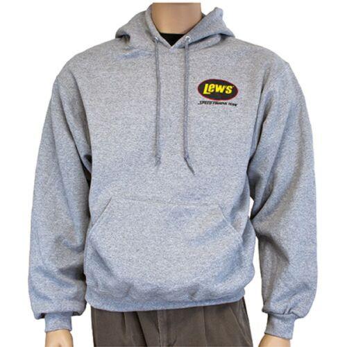 Lews Lew/'s Gray Hoodie Medium 50/%Cotton//50/% Polyester Sweatshirt  NEW