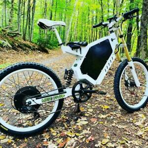 Super Electric Bike. 3kW motor Powered by Samsung. (Falcon3K by Merkava). Fast and Long Range Electric Mountain Bike Canada Preview