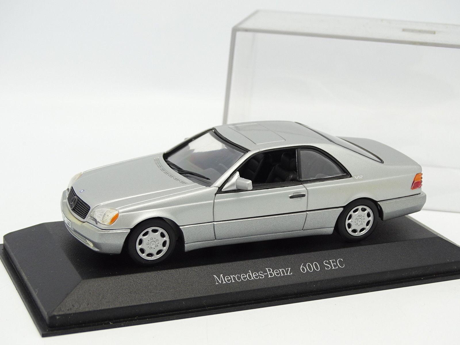 Minichamps 1 43 - Mercedes 600 SEC argentoo