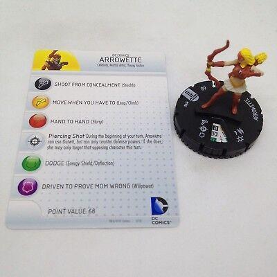 Heroclix Teen Titans # 006 Arrowette
