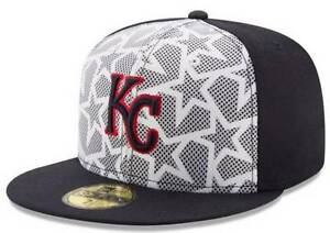 58bf51975e5 Official MLB 2016 Kansas City Royals July 4th New Era 59FIFTY Fitted ...