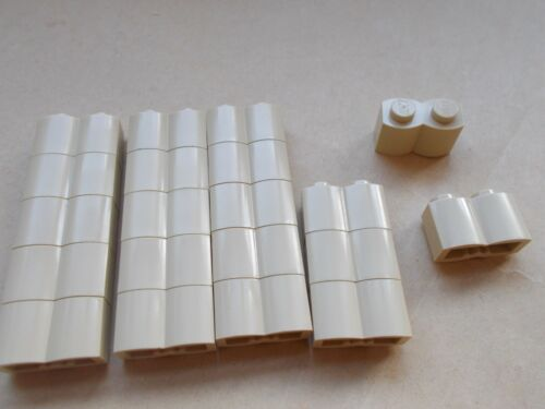 CHOOSE YOUR COLOUR NEW LEGO 20X 1X2 PALISADE BRICK 30136 LOG EFFECT WOOD EFFECT