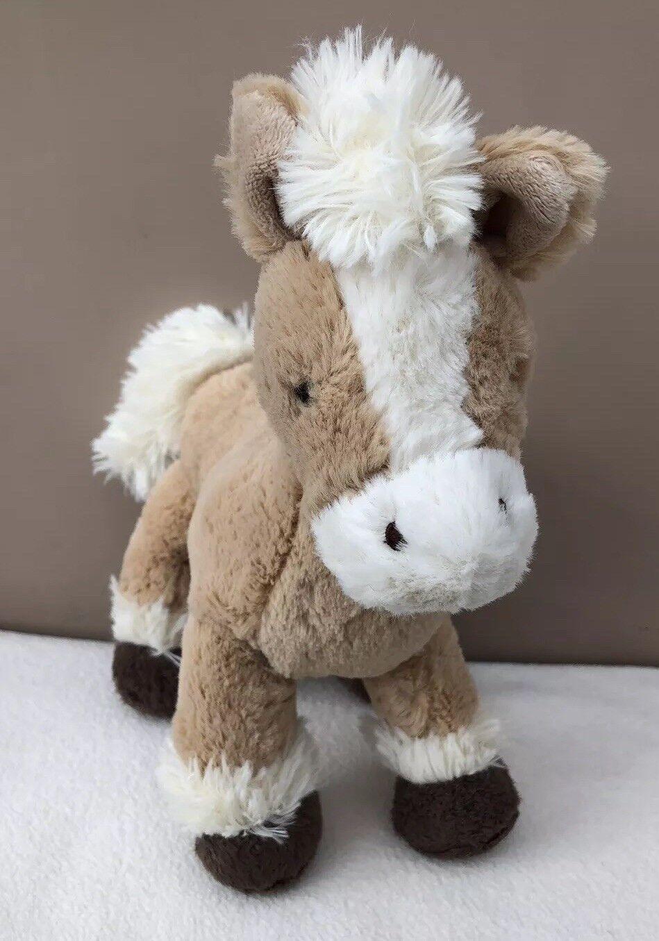 Jellycat Fabulous Filly Palomino Pony Horse Soft Toy Comforter Beige Cream Plush