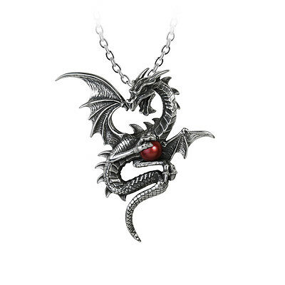 Aethera DraconemMen/'s Ladies Dragon Necklace GENUINE Alchemy Gothic Pendant