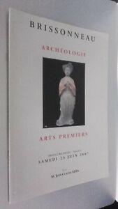 Catálogo De Venta Demuestra Brissonneau Arqueología Sábado 23 Junio 2007 Be
