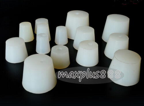 5pcs 1# Food grade solid  silicone stopper  No holes Non pass For sealing NEW