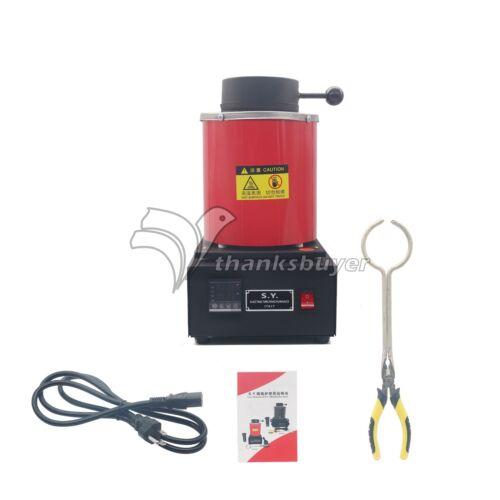 Horno de fusión de automático Melt 2kg Plata Y Oro pour Bar Controlador Digital