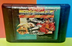 Street-Fighter-II-Special-Champ-Edition-Sega-Genesis-Game-Rare-Tested-AUTHENTIC