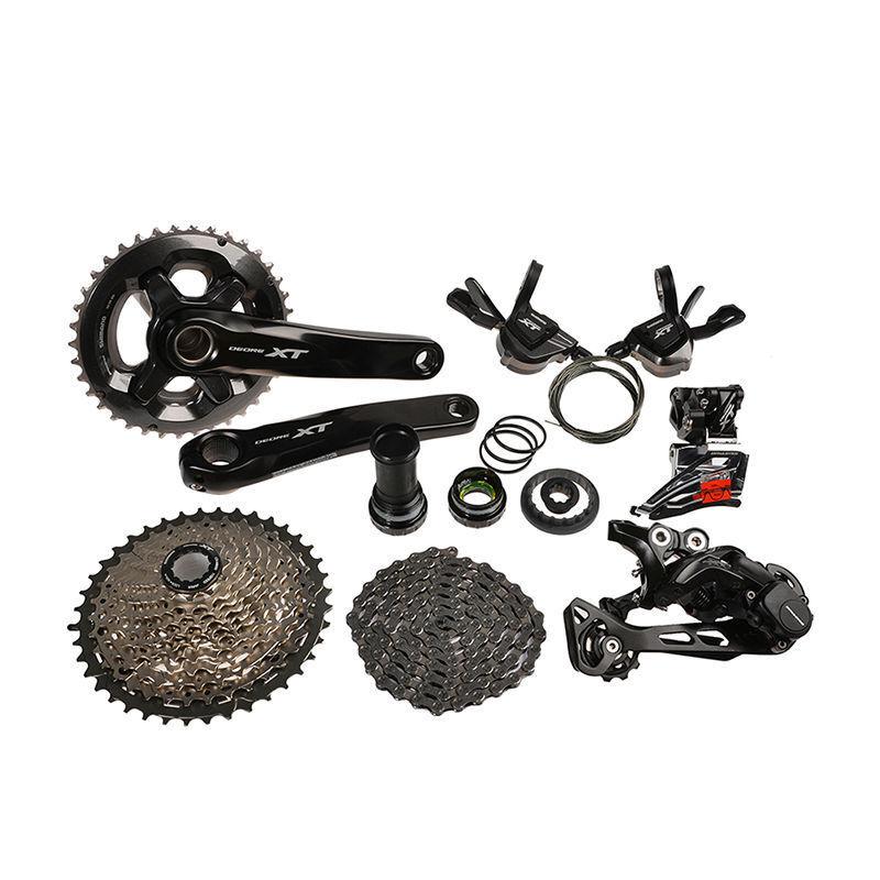 2016 Shimano Deore Xt M8000 Mtb Mountain Bike Grupo Grupo Set 11-speed Nuevo