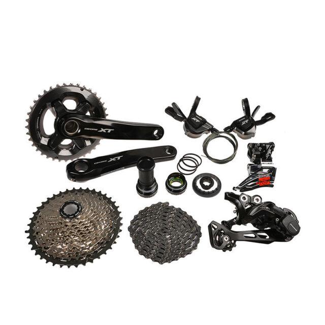afbda5c403b 2016 SHIMANO Deore XT M8000 MTB Mountain Bike Groupset Group Set 11-speed  New