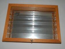 Hotwheels Wood And Glass Display Case 18x13x3 R17373