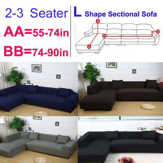 L Shape Couch Large Sectional Sofa