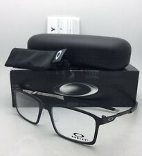 New OAKLEY Eyeglasses STEEL LINE S OX8097-0154 54-17 140 Satin Black Frames