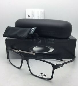 a47f2c2a09 New OAKLEY Eyeglasses STEEL LINE S OX8097-0154 54-17 140 Satin Black ...