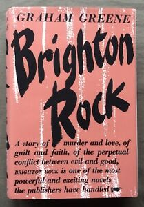 Brighton Rock Graham Greene 1938 1st UK Edition Very Good