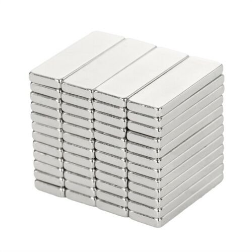 N50 1.18 x 0.39 x 0.12 inch Magnets Nickel//Copper Block Materials Magnet