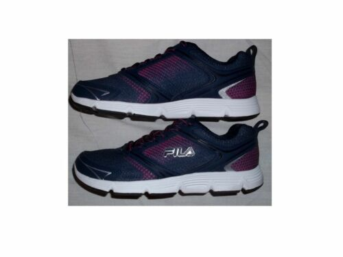 ec839108989c 2 of 3 NIB Women s FILA Vector Running Athletic Shoes Navy   Pink FREE  SHIPPING
