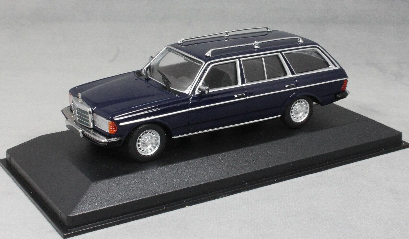 Minichamps maxichamps Mercedes-Benz 230TE W123 in Blu 1982 940032211 1 43 NUOVI