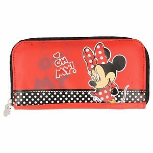 Disney-Minnie-Mouse-Red-Zipped-Purse-034-Oh-My-034-design-NEW