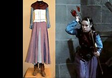ANNA POPPLEWELL (2008, Prince Caspian) production-used SUSAN Castle Raid Costume