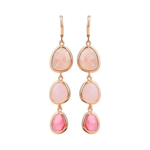 Luxury Statement Jewelry Geometric Gifts Dangle Long Crystal Earrings Drop