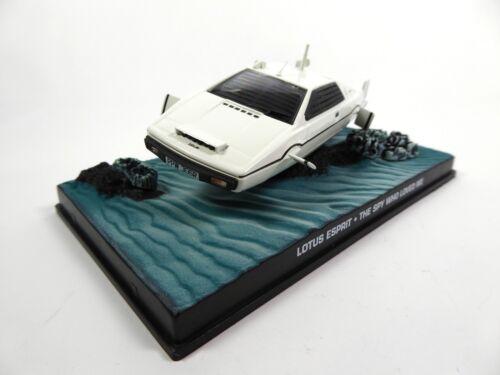 Lotus Esprit S1 James Bond 007 L/'Espion qui m/'aimait 1:43 Voiture Car KY03